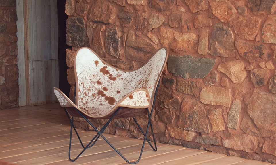 Cow Skin Butterfly Chairs